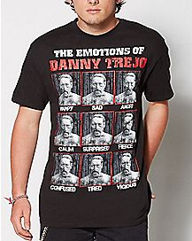 Emotions of Danny Trejo T Shirt
