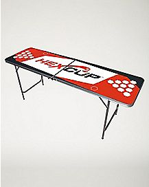 Hexcup Beer Pong Table - 6.5 Ft