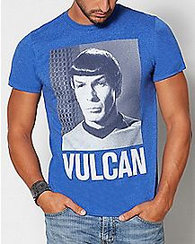 Vulcan Spock Star Trek T Shirt