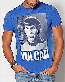 Vulcan Spock Star Trek T Shirt