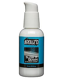 Slow It Down Water-Based Extension Cream 2 oz. - Arouz'd
