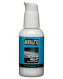 Arouz'd Stroke It Right Water-Based Jack Off Cream - 2 oz.
