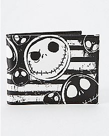 Stripe Nightmare Before Christmas Bifold Wallet