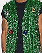 Tinsel Christmas Vest with Christmas Balls