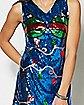 Sequin Jingle Balls Christmas Dress
