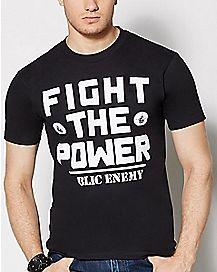 Fight The Power Public Enemy T Shirt