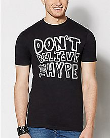 Don't Believe The Hype Public Enemy T Shirt