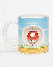 Super Mario Mushroom Spinner Mug - 20 oz.