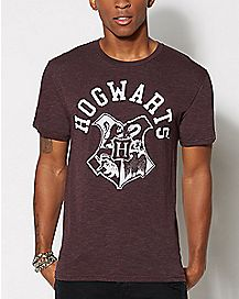Hogwarts Crest Harry Potter T Shirt