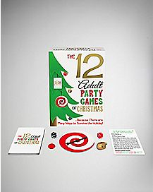 The 12 Adult Games of Christmas Game