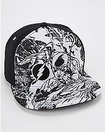 The Flash Snapback Hat - DC Comics