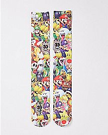 Super Mario Knee High Socks