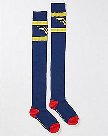 Knee High Wonder Woman Socks