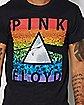 Pink Floyd Rainbow Prism T Shirt