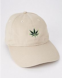 Pot Leaf Dad Hat