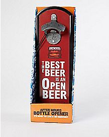 Plaque Bottle Opener