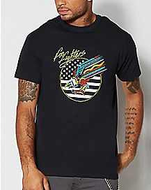 Foo Fighters Neon Eagle T Shirt