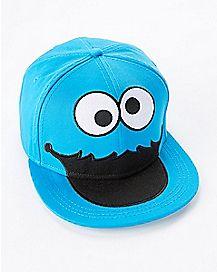Cookie Monster Snapback Hat