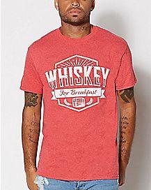 Whiskey for Breakfast T Shirt
