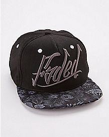 Faded Tonal Snapback Hat