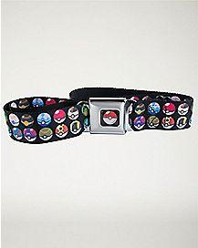 Pokeball Seatbelt Belt - Pokemon