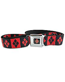 Diamond Harley Quinn Seatbelt Belt