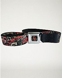 Daredevil Seatbelt Belt - Marvel Belt