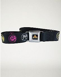 Power Rangers Seatbelt Belt