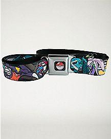 Character Pokemon Seatbelt Belt