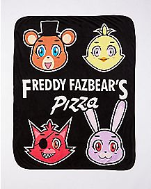 Five Nights at Freddy's Fleece Blanket