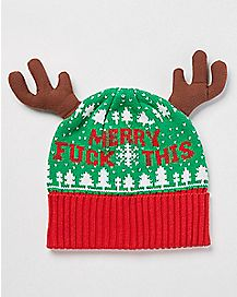 Merry Fuck This Christmas Beanie Hat