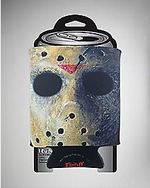 Jason Mask Friday The 13th Can Cooler