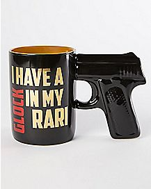 Glock Rari Gun Handle Mug