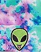 Tie Dye Alien Beanie Hat