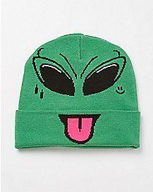 Alien Tongue Beanie Hat