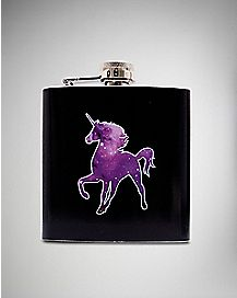 Galaxy Unicorn Flask