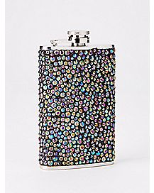 Rhinestone Flask - 5 oz.