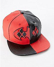 Harley Quinn Batman Snapback Hat - DC Comics