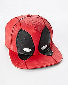 Face Deadpool Snapback Hat