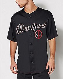 Deadpool Baseball Jersey - Marvel Comics