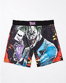 Joker Card Boxer Briefs - DC Comics