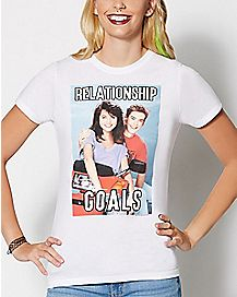 Relationship Goals T Shirt - Saved By The Bell
