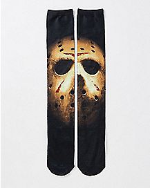 Friday The 13th Jason Crew Socks