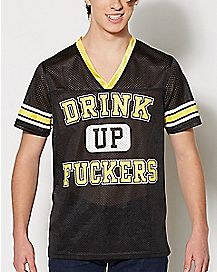 Drink Up Fuckers Jersey
