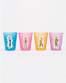 Dragon Ball Z Shot Glass 4 Pack - 1.5 oz.