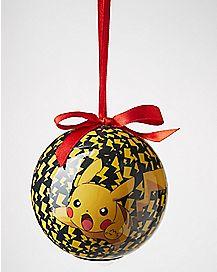 Light-Up Pikachu Pokemon Ornament