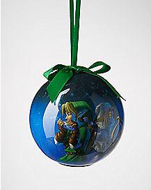 Light-Up Link and Sheik Legend of Zelda Ornament
