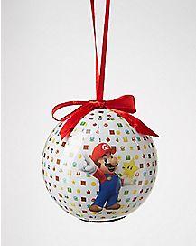 Light-Up Super Mario Ornament