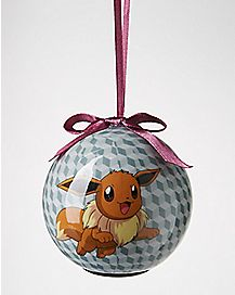 Eevee Pokemon Light Up Ornament