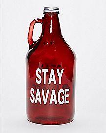 Stay Savage Growler - 50 oz.